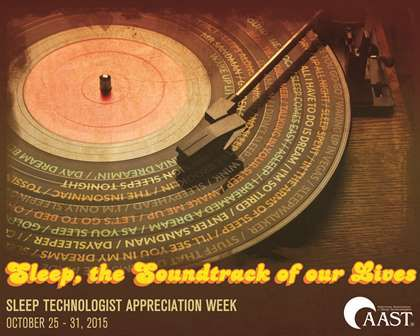 sleep technologist appreciation week