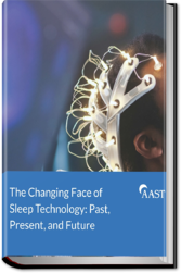 Changing Face of Sleep Technology Hardbook Cover 3D