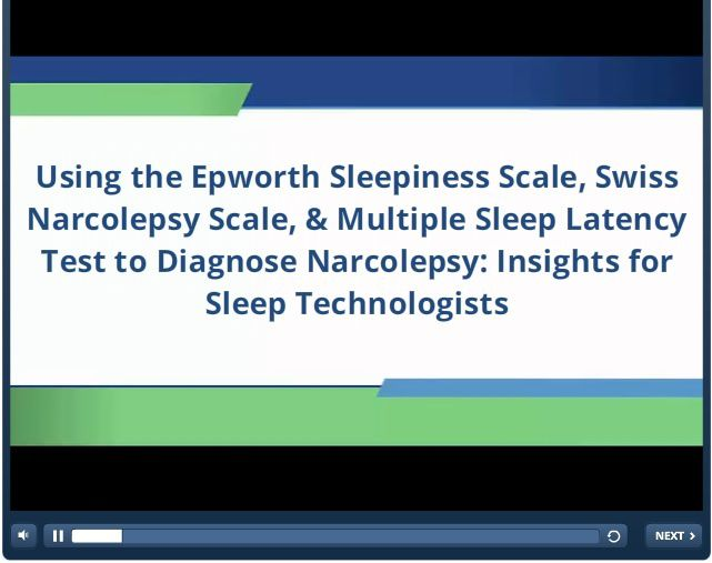 ESS, Swiss Narcolepsy Scale, MSLT to diagnose Narcolepsy