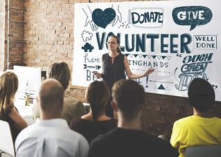 professional organizations and volunteering