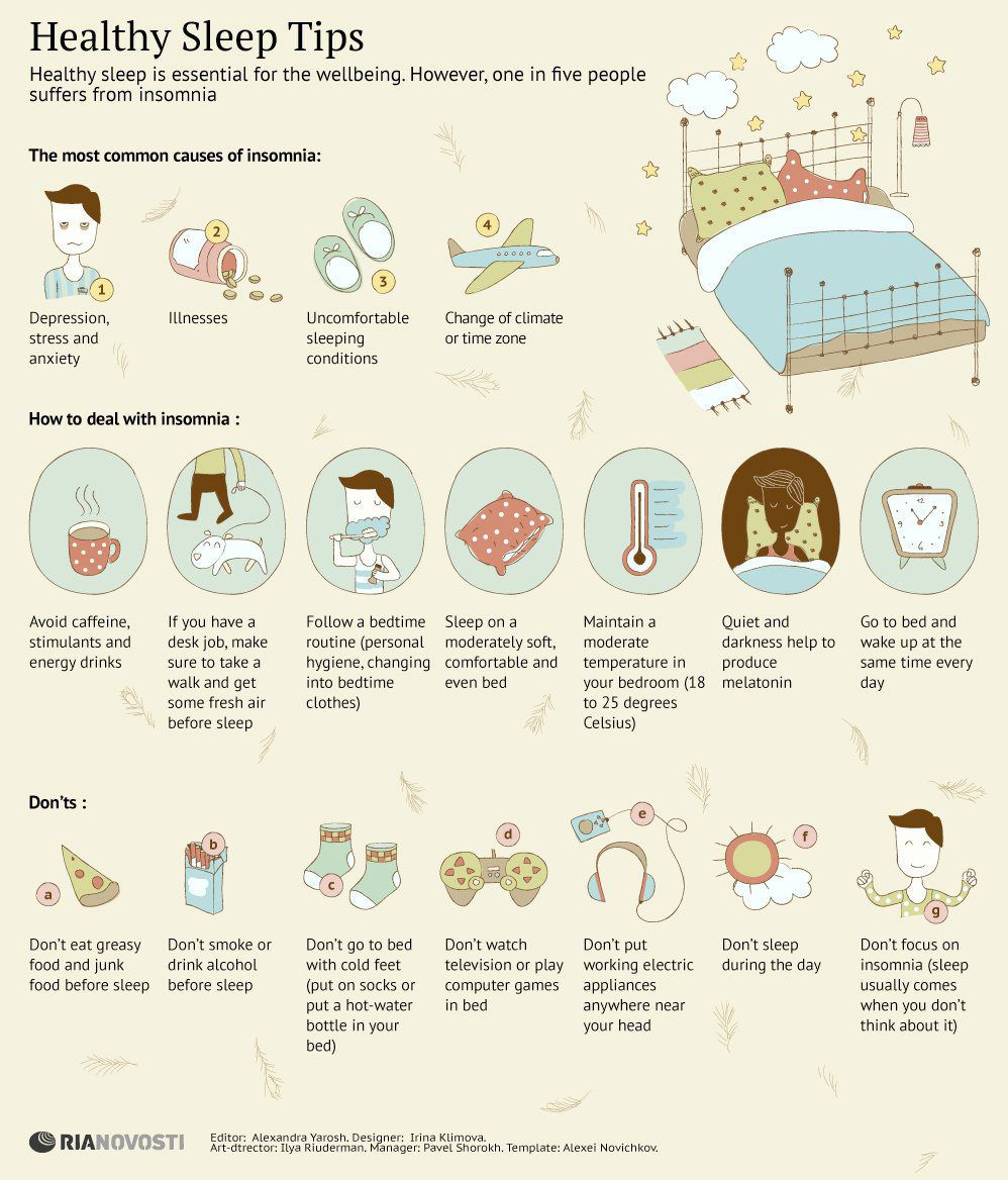 INFOGRAPHIC: Tips For Getting Better Sleep